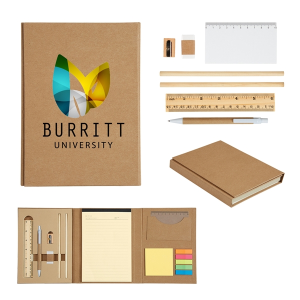 Eco-Inspired Tri-Fold Stationary Gift Set