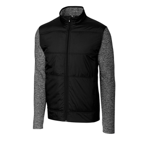 Cutter & Buck Men's DryTec™ Stealth Full-Zip