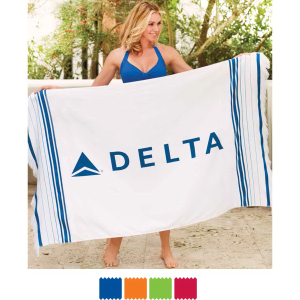 Turkish Signature Fringed Beach Towel