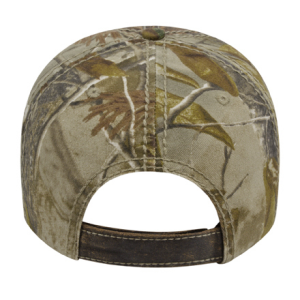 Faux Leathered Poly Cotton Camo Cap Go Usa Inc Buy